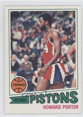 1977-78 Topps - [Base] - White Back #102 - Howard Porter