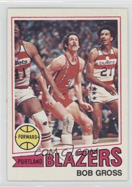 1977-78 Topps - [Base] - White Back #11 - Bob Gross
