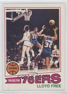 1977-78 Topps - [Base] - White Back #18 - World B. Free