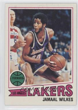 1977-78 Topps - [Base] - White Back #33 - Jamaal Wilkes