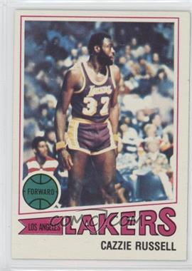 1977-78 Topps - [Base] - White Back #59 - Cazzie Russell