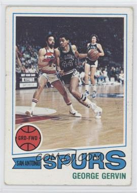 1977-78 Topps - [Base] - White Back #73 - George Gervin