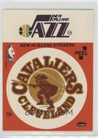 Cleveland Cavaliers/New Orleans Jazz (Red) [Poor]