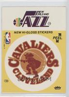 Cleveland Cavaliers/New Orleans Jazz (Yellow)