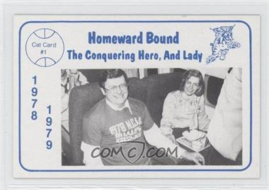 1978-79 Foodtown University of Kentucky Wildcats - [Base] #1 - Joe Hall
