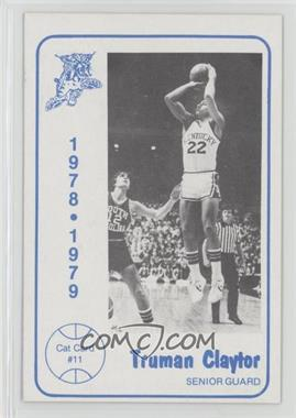 1978-79 Foodtown University of Kentucky Wildcats - [Base] #11 - Truman Claytor