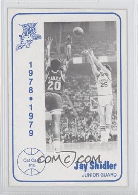 1978-79 Foodtown University of Kentucky Wildcats - [Base] #15 - Jay Shidler