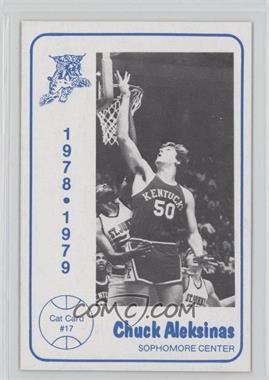 1978-79 Foodtown University of Kentucky Wildcats - [Base] #17 - Chuck Aleksinas