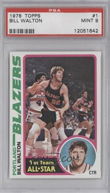 1978-79 Topps - [Base] #1 - Bill Walton [PSA 9]