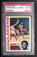 2nd Team All-Star (Kareem Abdul-Jabbar) [PSA 8]
