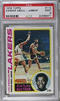 2nd Team All-Star (Kareem Abdul-Jabbar) [PSA 9 MINT]