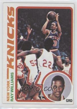 1978-79 Topps - [Base] #129 - Ray Williams
