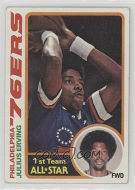 1978-79 Topps - [Base] #130 - Julius Erving [Good to VG‑EX]
