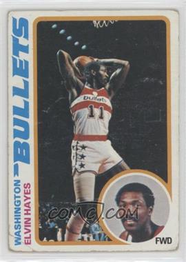 1978-79 Topps - [Base] #25 - Elvin Hayes [Poor]