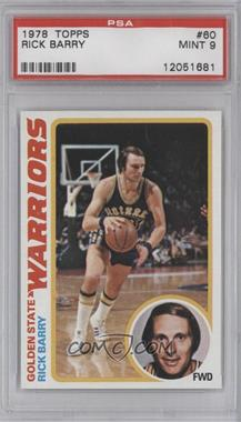 1978-79 Topps - [Base] #60 - Rick Barry [PSA 9]