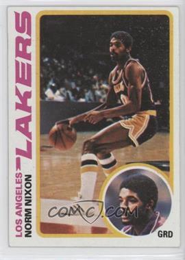 1978-79 Topps - [Base] #63 - Norm Nixon
