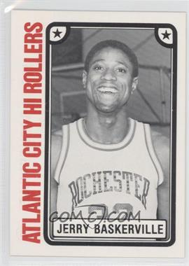 1980-81 TCMA CBA - [Base] #10 - Jerry Baskerville