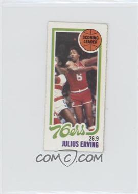 1980-81 Topps - [Base] - Separated #174 - Scoring Leader - Julius Erving