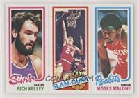 Rich Kelley, Bobby Jones, Moses Malone