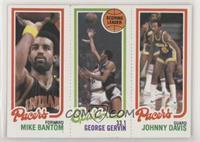 Mike Bantom, George Gervin, Johnny Davis