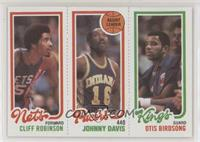 Cliff Robinson, Johnny Davis, Otis Birdsong