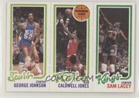 George Johnson, Caldwell Jones, Sam Lacey
