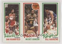 Dan Roundfield, Mickey Johnson, Bill Robinzine