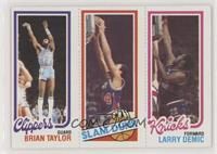 Brian Taylor, John Shumate, Larry Demic