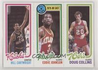 Bill Cartwright, Doug Collins, Eddie Johnson