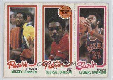1980-81 Topps - [Base] #193-154-119 - Leonard Robinson, Mickey Johnson, George Johnson [GoodtoVG‑EX]