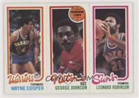 Wayne Cooper, George Johnson, Leonard Robinson
