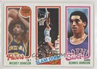 Mickey Johnson, World B. Free, Dennis Johnson