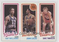 Ray Williams, John Lucas, Dave Twardzik [GoodtoVG‑EX]