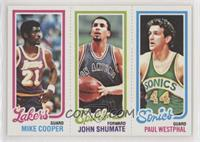 Michael Cooper, John Shumate, Paul Westphal