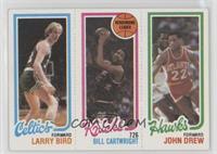 Larry Bird, Bill Cartwright, John Drew