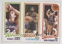 Bobby Jones, Clifford Ray, Ben Poquette