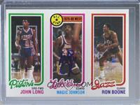 John Long, Magic Johnson, Ron Boone [JSACertifiedCOASticker]