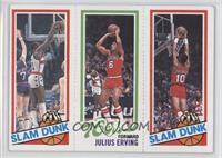 Elvin Hayes, Julius Erving, Ron Brewer [GoodtoVG‑EX]