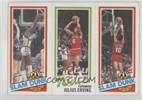 Elvin Hayes, Julius Erving, Ron Brewer