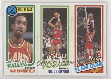 1980-81 Topps - [Base] #258-181-3 - Dan Roundfield, Julius Erving, Ron Brewer