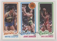 Wayne Cooper, John Johnson, David Greenwood