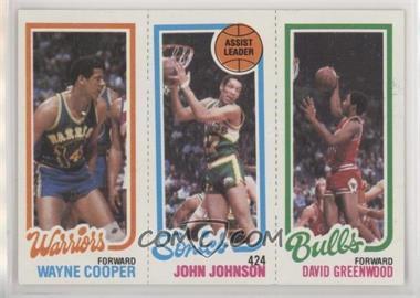 1980-81 Topps - [Base] #45-226-95 - Wayne Cooper, John Johnson, David Greenwood