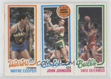 1980-81 Topps - [Base] #45-226-95 - Wayne Cooper, John Johnson, David Greenwood [GoodtoVG‑EX]