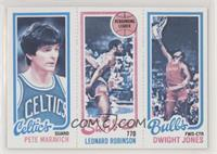 Pete Maravich, Dwight Jones, Leonard Robinson