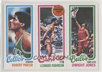 Robert Parish, Dwight Jones, Leonard Robinson