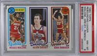 Moses Malone, Kevin Grevey, Dave Robisch [PSA8NM‑MT]