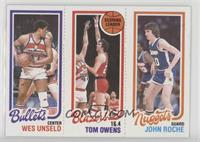 Wes Unseld, Tom Owens, John Roche