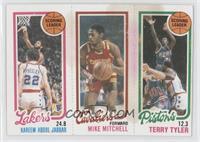 Kareem Abdul-Jabbar, Mike Mitchell, Terry Tyler [Poor]