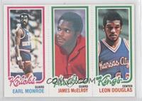 Earl Monroe, Leon Douglas, Jim McElroy