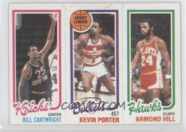 1980-81 Topps - [Base] #BCKPAH - Bill Cartwright, Kevin Porter, Armond Hill